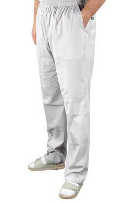 İhvan - Erkek Keten Şalvar Gri Renk - Hac Umre Pantolonu