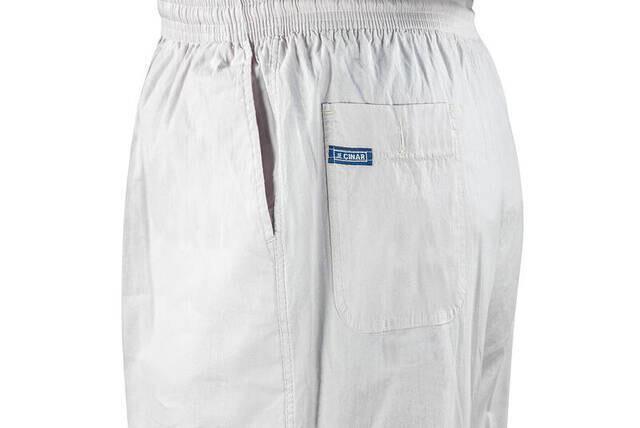 Erkek Keten Şalvar Gri Renk - Hac Umre Pantolonu