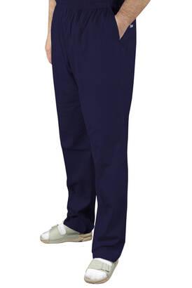 İhvan - Erkek Keten Şalvar Lacivert Renk - Hac Umre Pantolonu
