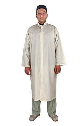 İhvan - Erkek Namaz Cübbesi Namaz Kıyafeti Krem