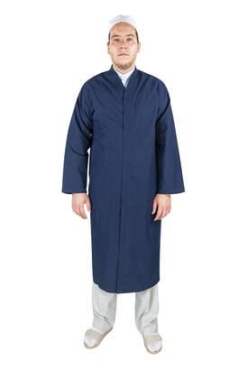 İhvan - Erkek Namaz Cübbesi Namaz Kıyafeti Lacivert