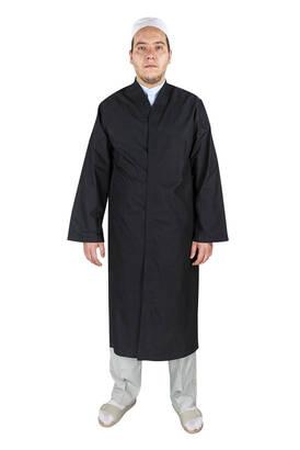 İhvan - Erkek Namaz Kıyafeti Sİyah