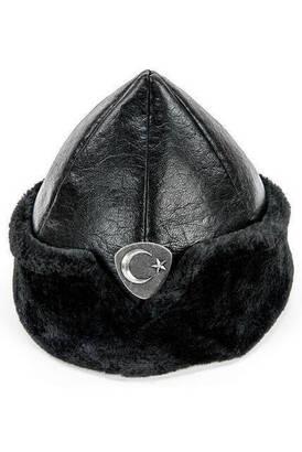 İhvan - Ertuğrul Çocuk Şapkası 2029 Garson Boy - Siyah Renk 5-8 Yaş
