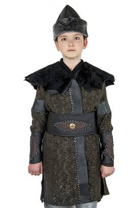 İhvan - Ertuğrul Kostüm - Çocuk Alp Kıyafeti Siyah