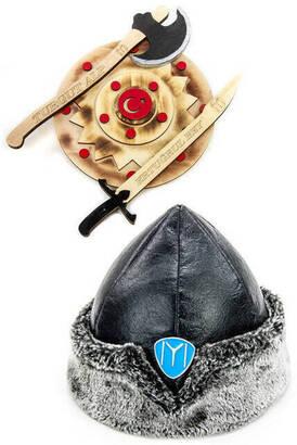 İhvan - Ertuğrul Oyuncak Seti 1 - Çocuk Börkü - Kalkan - Kılıç - Balta