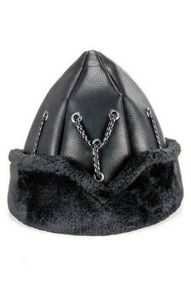İhvan - Ertuğrul Şapkası - 2011 - Siyah Renk - Kayı Örmeli