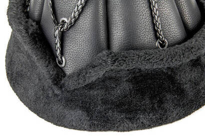 Ertuğrul Şapkası - 2011 - Siyah Renk - Kayı Örmeli