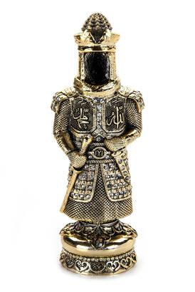İhvan - Ertuğrul Zırh Biblo Dini Hediyelik Gold Renk
