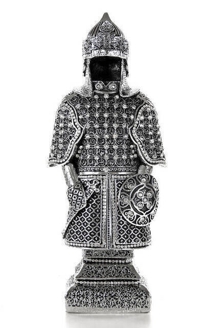 Esmaül Hüsna Trinket Armor Medium- Silver
