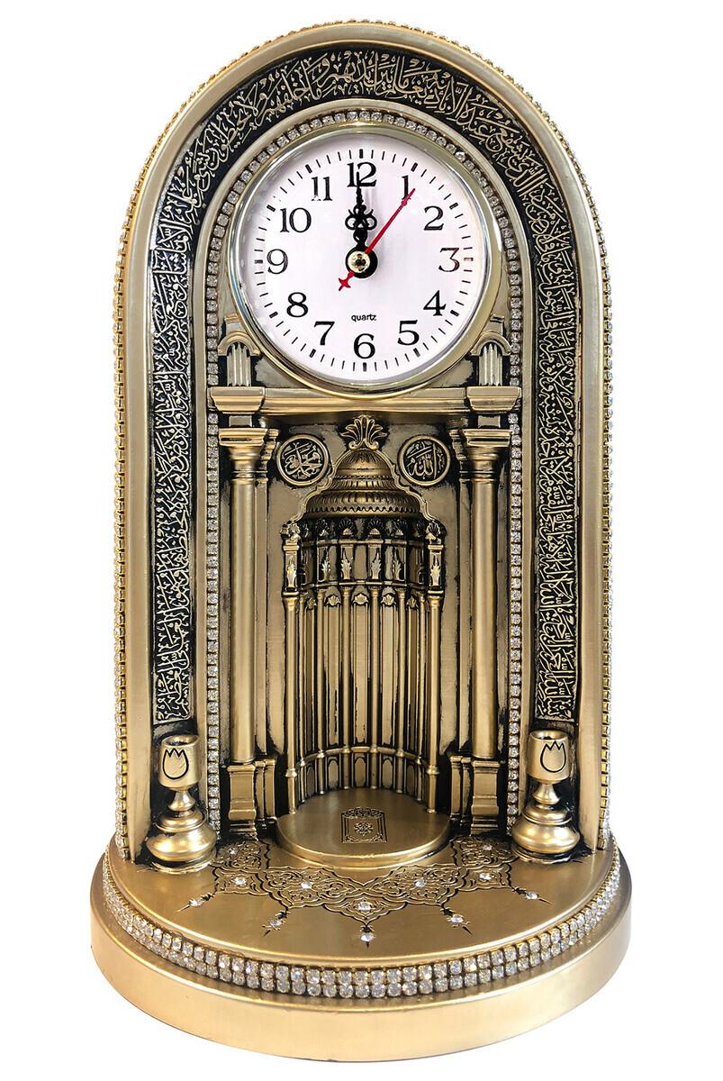 Eyüp Sultan Mosque Clock Mihrab Trinket Big Yellow