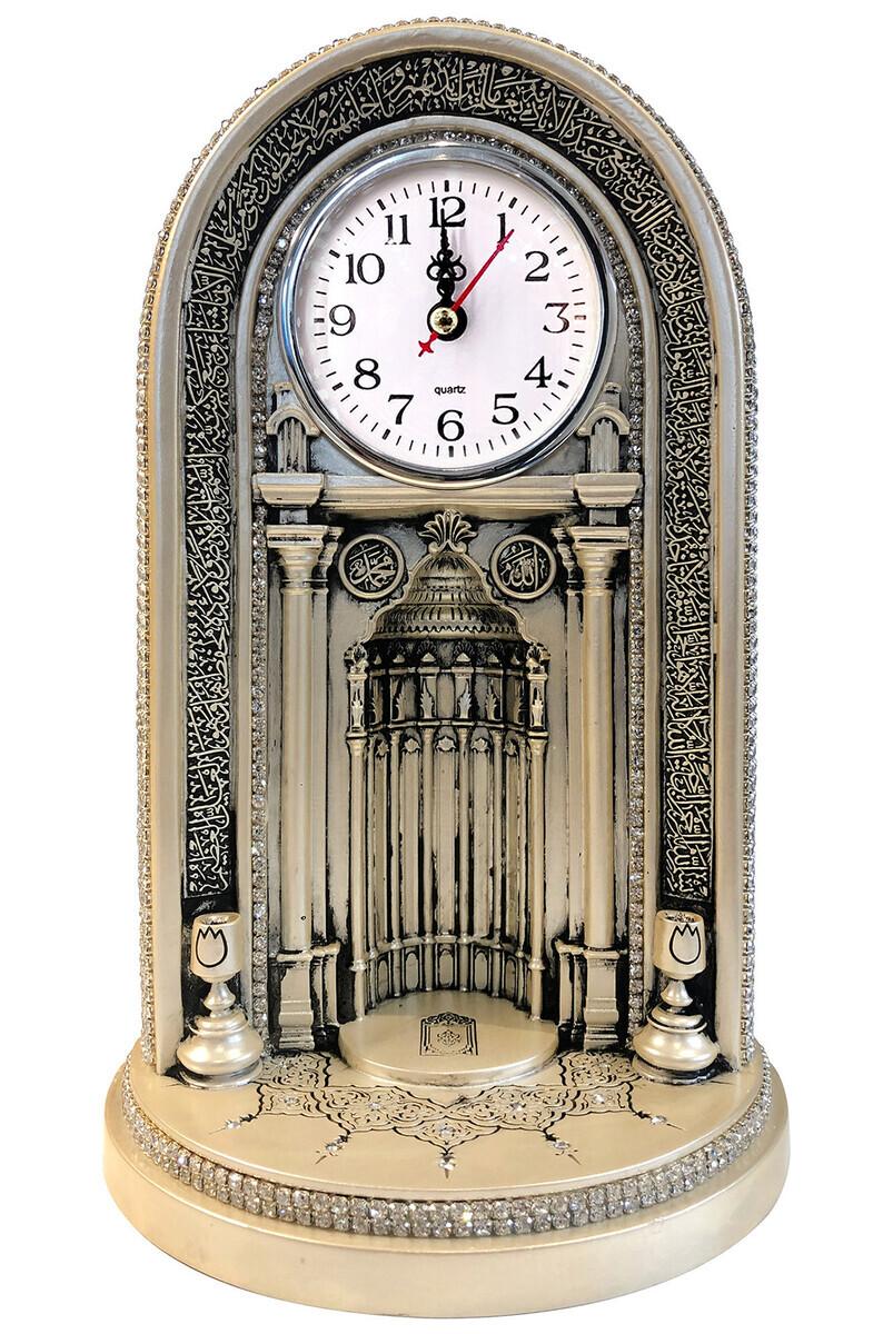 Eyüp Sultan Mosque Clock Mihrab Trinket Large Mother-of-Pearl