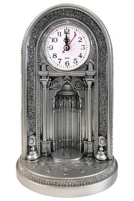 İhvan - Eyüp Sultan Mosque Clock Mihrab Trinket Large Silver