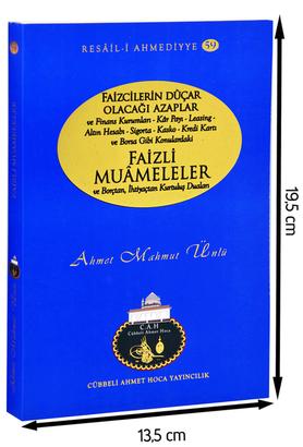 Cübbeli Ahmet Hoca Yayıncılık - Faizli Muameleler- Borçtan ve İhtiyaçtan Kurtuluş Duaları-1150