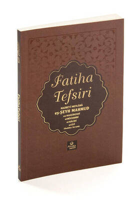 Ahıska Yayınevi - Fatiha Tefsiri - Mahmud Ustaosmanoğlu K.S-1160