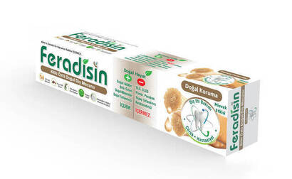 İhvan - Feradisin Natural Herbal Toothpaste - 7155