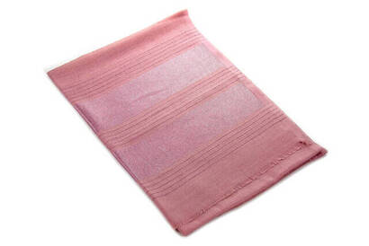 İhvan - Flamed Silvery Shawl - Pink