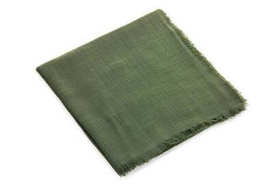 İhvan - Flamlı Kare Pamuklu Örtü - Yeşil