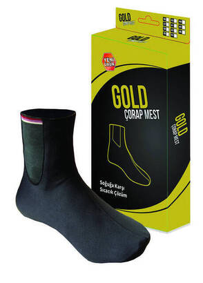 Gold - Gold Socks Mest - Thermal Mest