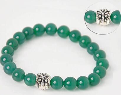 İhvan - Green Flowstone Bracelet