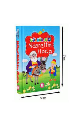 Mavi Lale Çocuksu - Güldür Us Nasreddin Hodja - Aquarium Publications- Educational Book for Children1158