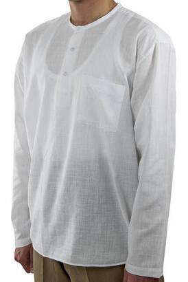 İhvan - Hac Umre Kıyafeti - Gömlek - Beyaz