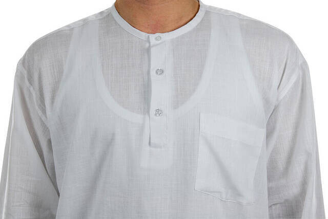 Hac Umre Kıyafeti - Gömlek - Beyaz