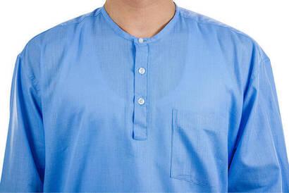 Hac Umre Kıyafeti - Gömlek - Mavi