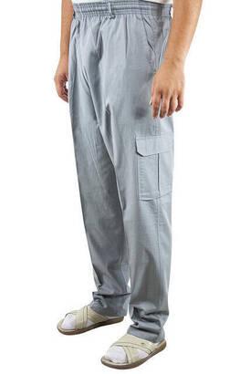 İhvan - Hac Umre Kıyafeti - Şalvar Pantolon - Gri