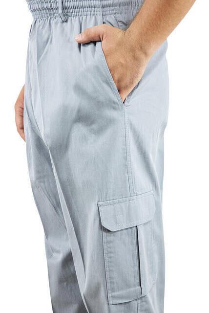 Hac Umre Kıyafeti - Şalvar Pantolon - Gri