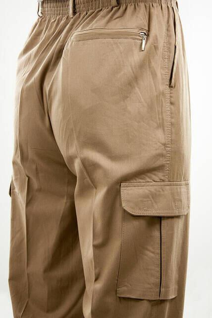 Hac Umre Kıyafeti - Şalvar Pantolon - Kahverengi