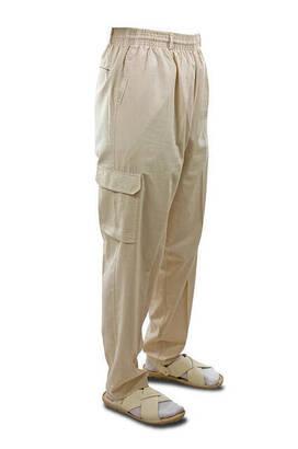 İhvan - Hac Umre Kıyafeti - Şalvar Pantolon - Krem