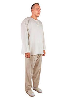 İhvan - Hac ve Umre Kıyafeti - İkili Takım Krem Renk
