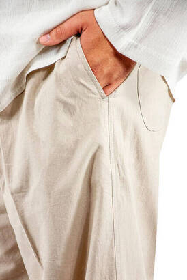 Hac ve Umre Kıyafeti - İkili Takım Krem Renk