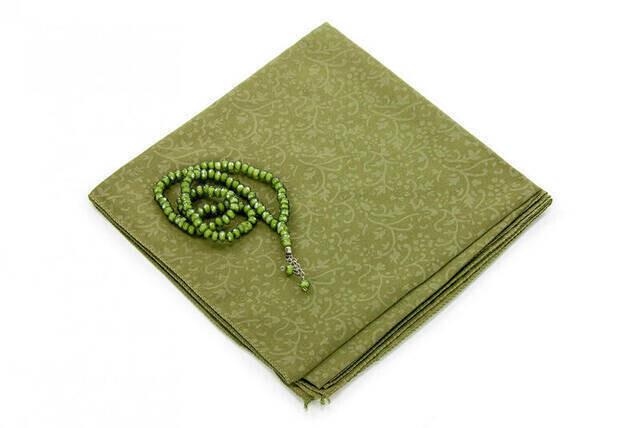 Hac Umre Mevlid Set 9 - Seccade - Cover - Rosary - Boxed