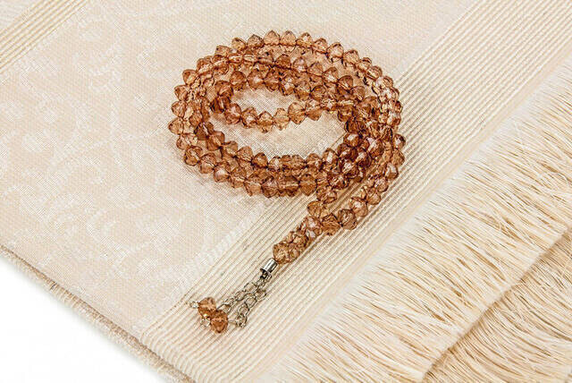 Hajj Umrah Mevlid Set 15 - Seccade - Cover - Rosary - Boxed