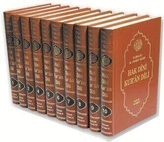 Hak Dini Kuran Dili (10 Cilt) Huzur Yayıncılık-1416