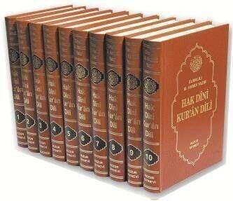 HUZUR YAYINEVİ - Hak Dini Kuran Dili (10 Cilt) Huzur Yayıncılık-1416