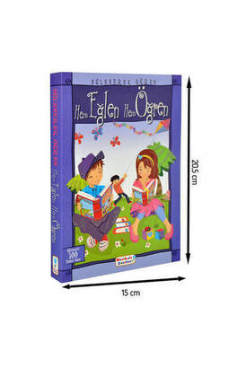 Mavi Lale Çocuksu - Have Fun and Learn Mavi Lale Publications Children's Educational Book -1155