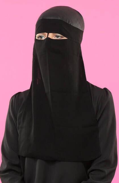 Hijab Veil One Piece