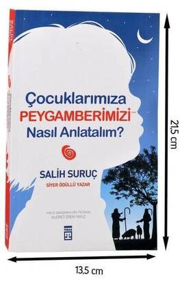 TİMAŞ YAYINEVİ - How Do We Tell Our Children About Our Prophet? Religious Educational Book-1607