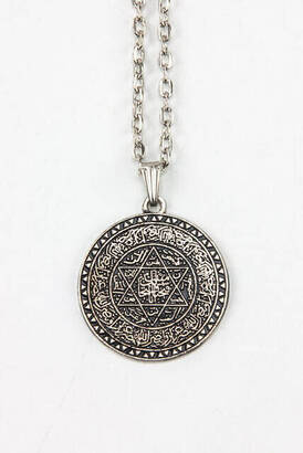 Hz. Seal of Solomon Talisman Necklace