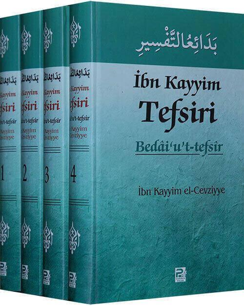 İbn Kayyim Tefsiri ve Bedaiut Tefsir - 4 Cilt-1403