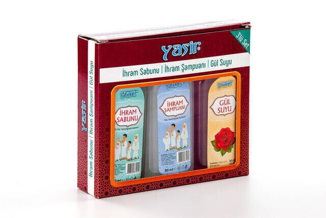 İhram Sabunu - İhram Şampuanı - Gül Suyu