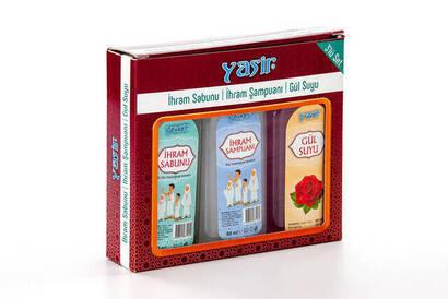 İhvan - İhram Sabunu - İhram Şampuanı - Gül Suyu