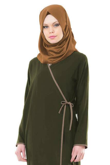 İhvan 5006-7 Haki Namaz Elbisesi
