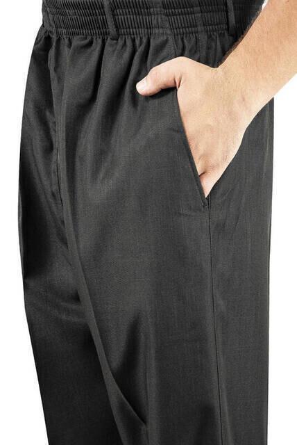 İhvan Kumaş Şalvar Pantolon Mevsimlik - Kahverengi