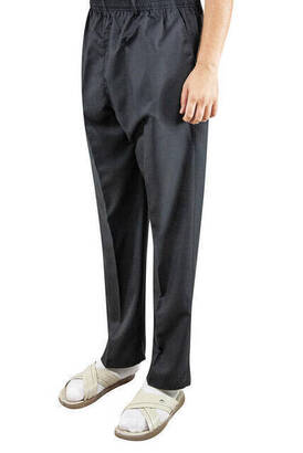 İhvan - İhvan Kumaş Şalvar Pantolon Mevsimlik - Siyah
