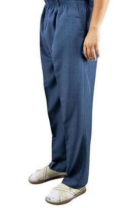 İhvan - İhvan Fabric Shalwar Trousers Seasonal - Blue