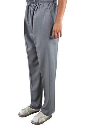 İhvan - İhvan Fabric Shawl Trousers Seasonal - A. Gray