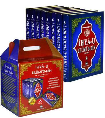 HİSAR YAYINEVİ - İhya-u Ulumi'd-Din (8 Cilt-Takım) Yeni Tercüme-1463